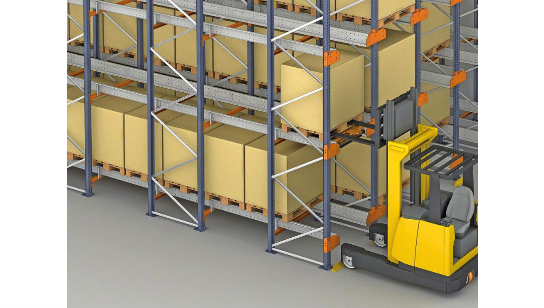 Pallet Shuttle Assisted Rack System | NUTECH | Warehouse